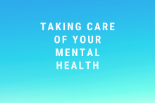 Taking Care of Your Mental Health